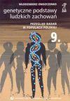 Genetyczne podstawy ludzkich zachowań - Włodzimierz Oniszczenko