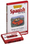 Drive-In Spanish for Kids: Songs and Games for On-The-Go Children (Drive-In Audio Packs for Kids) [ABRIDGED] - Passport Books