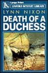 Death of a Duchess - Lynn Nixon