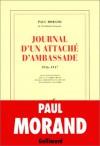 Journal D'un Attaché D'ambassade (1916 1917) - Paul Morand