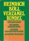 Verzamelbundel : Een slok aarde ~ Het brood van mijn jeugd ~ De trein had geen vertraging ~ De man met de messen - Heinrich Böll, H.L. Mulder, Vic Stalling, Adriaan Morriën