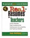 Real-Resumes for Teachers - Anne McKinney