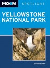 Moon Spotlight Yellowstone National Park - Don Pitcher