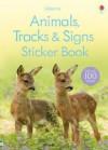 Animal Tracks and Signs Sticker Book - Leutscher, ALFRED LEUTSCHER