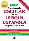 Vox Diccionario Escolar de la Lengua Espanola - Vox