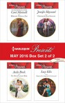 Harlequin Presents May 2016 - Box Set 2 of 2: Billionaire Without a PastThe Shock Cassano BabyClaiming the Royal InnocentKept at the Argentine's Command (Irresistible Russian Tycoons) - Carol Marinelli, Andie Brock, Jennifer Hayward, Lucy Ellis