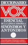 Diccionario VOX SP Sinonimos - Vox