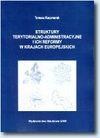 Struktury terytorialno-administracyjne i ich reformy w krajach europejskich - Tomasz Kaczmarek
