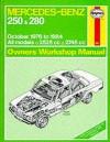Mercedes Benz Owners Workshop Manual - A.K. Legg