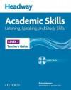 Headway Academic Skills: 3: Listening, Speaking, and Study Skills Teacher's Guide with Tests CD-ROM - John Soars, Liz Soars
