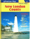 New London County Street Atlas: Including Colchester, East Lyme, Groton, Ledyard, Montville, New London, North Stonington, Norwich, Stonington, Waterford, And Adjoining Communities - Arrow Map Inc