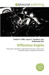 Difference Engine - Frederic P. Miller, Agnes F. Vandome, John McBrewster