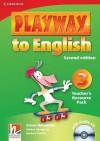 Playway to English Teacher's Resource Pack 3 [With CD (Audio)] - Garan Holcombe, Günter Gerngross, Herbert Puchta