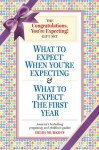 The Congratulations, You're Expecting! Gift Set: What to Expect When You're Expecting & What to Expect the First Year (Boxed Set) - Heidi Murkoff