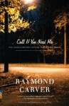 Call If You Need Me: The Uncollected Fiction and Other Prose - Raymond Carver, Tess Gallagher