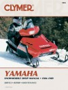 Yamaha Snowmobile Shop Manual, 1984-1989 - Ron Wright, Clymer