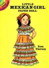 Little Mexican Girl Paper Doll - Tom Tierney