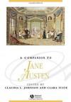 A Companion to Jane Austen (Blackwell Companions to Literature and Culture) - Claudia L. Johnson, Clara Tuite