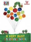 A Very Busy Coloring Book (The World of Eric Carle) - Mona Miller, Golden Books