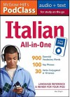 McGraw-Hill's PodClass Italian All-In-One Study Guide: Language Reference & Review for Your iPod [With Booklet] - Alex Chapin