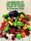 Handbook of the Nutritional Value of Foods in Common Units - Department Of Agriculture, Department Of Agriculture