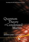Quantum Theory of Condensed Matter - Proceedings of the 24th Solvay Conference on Physics - Bertrand I. Halperin, Alexander Sevrin