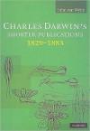 Charles Darwin's Shorter Publications, 1829 1883 - John Van Wyhe
