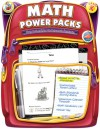 Math Power Packs, Grade K: Reproducible Homework Packets - Frank Schaffer Publications, Frank Schaffer Publications