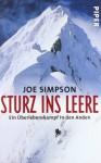 Sturz ins Leere: Ein Überlebenskampf in den Anden - Joe Simpson, Edigna Hackelsberger