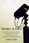 Privacy in Peril - James B. Rule
