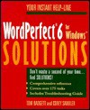 WordPerfect 6 for Windows Solutions - Tom Badgett, Corey Sandler