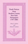 Death Notices from Steuben County, New York Newspapers, 1797-1884 - Mary Smith Jackson