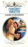 Model Of Deception (Harlequin Presents, No 861) - Margaret Pargeter