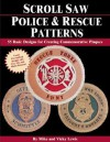 Scroll Saw Police & Rescue Patterns: 55 Basic Designs for Creating Commemorative Plaques - Vicky Lewis, Vicky Lewis