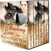 Finding Love the Harvey Girl Way (Christian Historical Romance): 4 Complete novels - Cynthia Hickey