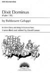 Dixit Dominus: Psalm 110 - Beldessare Galuppi, David Larson