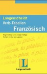 Langenscheidts Verb-Tabellen, Französisch - Rainer Vollath