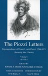 The Piozzi Letters V6: Correspondence of Hester Lynch Piozzi, 1784-1821 (Formerly Mrs. Thrale): 1817-1821 - Edward A. Bloom, O. M. Brack, Lillian D. Bloom, Gay W. Brack