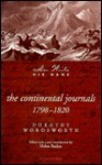The Continental Journals (Her Write His Name) - Dorothy Wordsworth, Marie M. Roberts, Helen Boden