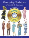Everyday Fashions of the 20th Century CD-ROM and Book - Tom Tierney