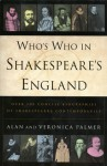 Who's Who in Shakespeare's England - Veronica Palmer