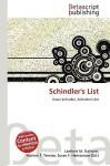 Schindler's List - Lambert M. Surhone, VDM Publishing, Susan F. Marseken