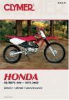 Clymer Honda XL/Xr75-100, 1975-2003 - Clymer Publishing