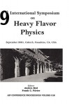 Heavy Flavor Physics: Ninth International Symposium on Heavy Flavor Physics - American Institute of Physics