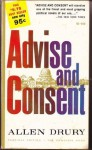 Advise and consent (Giant cardinal edition) - Allen Drury
