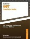 Master the GMAT--Quantitative Section - Peterson's, Mark Alan Stewart