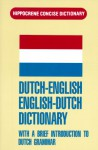 Dutch-English/English-Dutch Concise Dictionary: With a Brief Introduction to Dutch Grammar - Davidovic Mladen