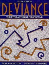 Deviance: The Interactionist Perspective - Earl Rubington, Martin S. Weinberg