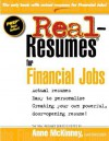 Real Resumes for Financial Jobs - Anne McKinney