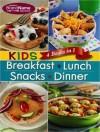 4 in 1 Recipe Book for Kids: Breakfast, Lunch, Snacks, and Dinner - Publications International Ltd.